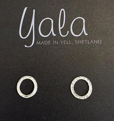Peerie (small) Circle Earrings