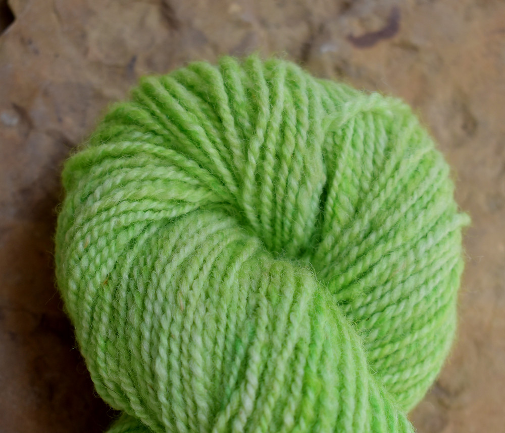 Wheely Wooly Farm Penny's Country Apple Green