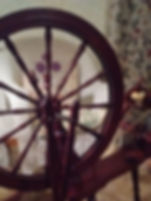 Spinning Wheel on Wheely Wooly Farm