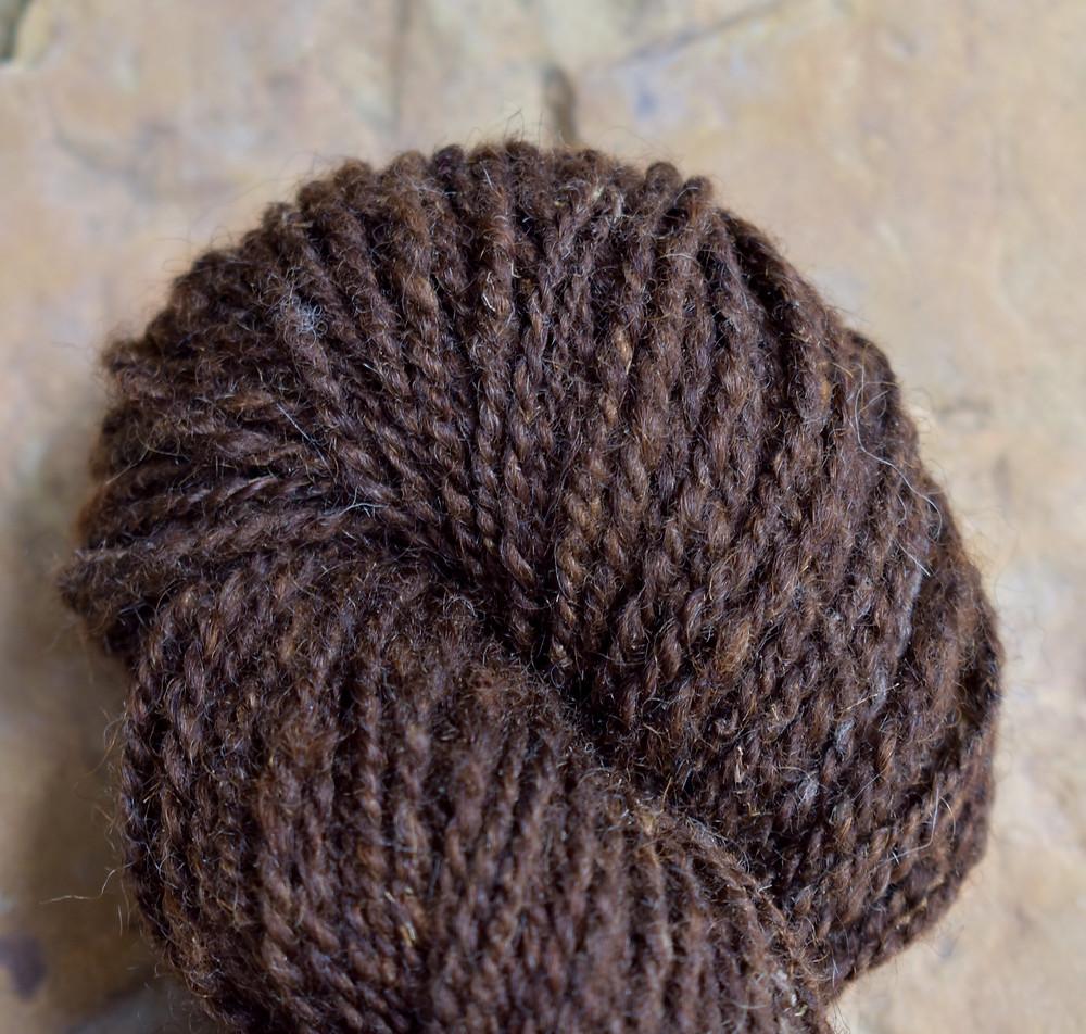 Wheely Wooly Farm's 100% Wheelspun Yarn by Bobbin