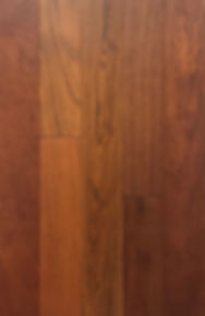 Jatoba - natural finish