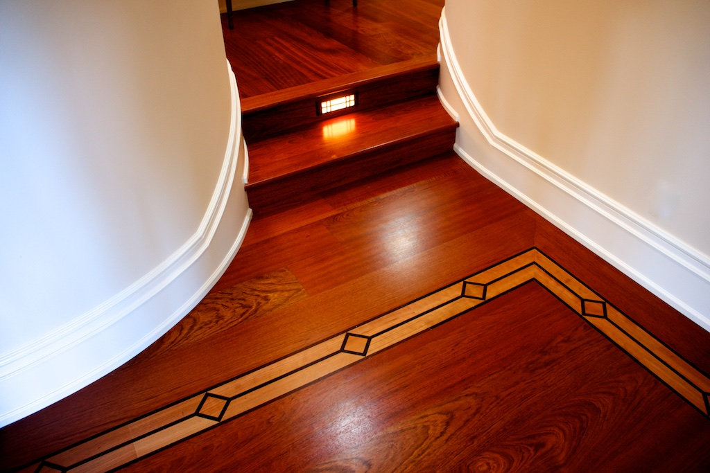 Jatoba w/ Step and Custom Inlay
