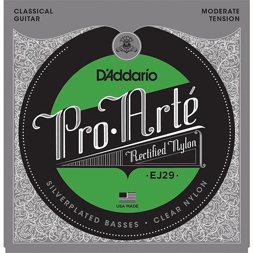 Струны D'Addario EJ29 для классической гитары (Moderate Tension)