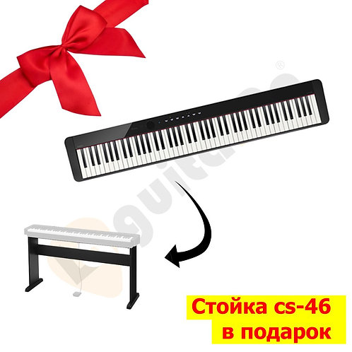 Цифровое пианино Casio Privia PX-S1000 BK+стойка CS-46