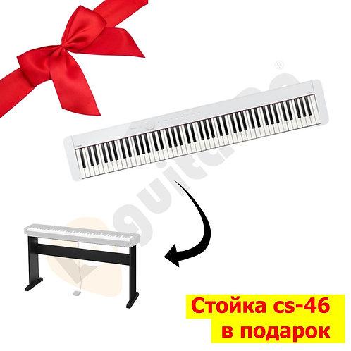 Цифровое пианино Casio Privia PX-S1000 WE+стойка CS-46