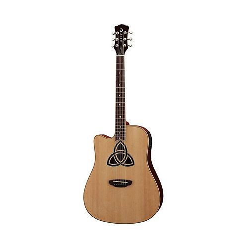 Электроакустическая гитара LUNA TRI D LEFTY