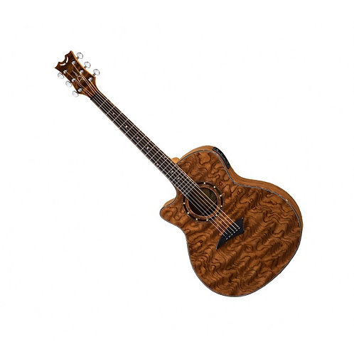 Электроакустическая гитара DEAN EXOTICA A/E BUBINGA WOOD