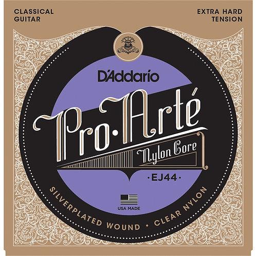 Струны D'Addario EJ44 для классической гитары (Extra Hard Tension)