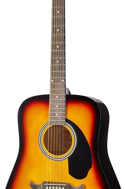 Акустическая гитара Fender FA-125 SB + чехол
