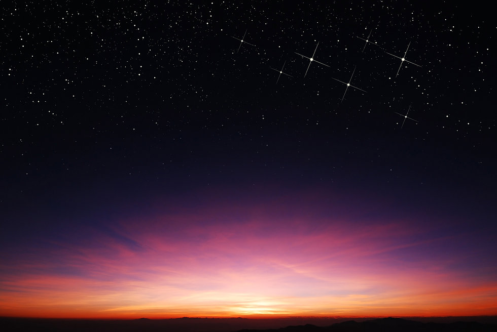 sunset sky star background light sunrise