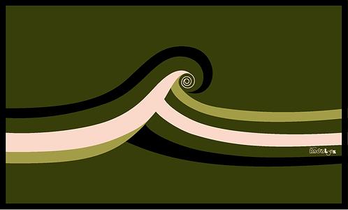 Tapis vinyle Wave