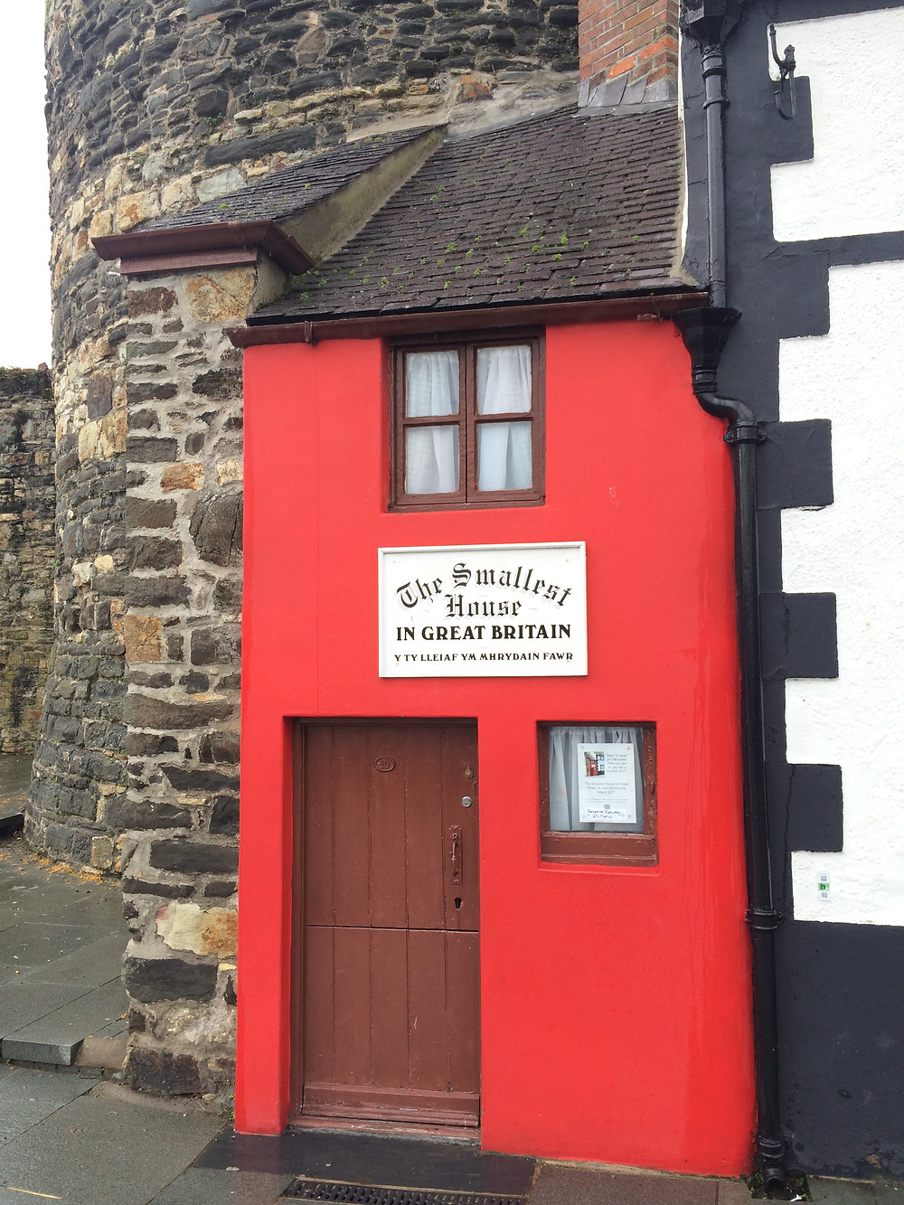 Smallest House in Great Britain, Conwy Quay