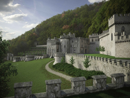 I'm a Celebrity always welcome says Gwrych Castle!