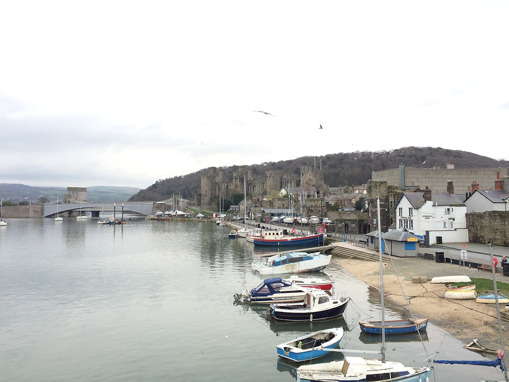 Conwy Harbour and Castle