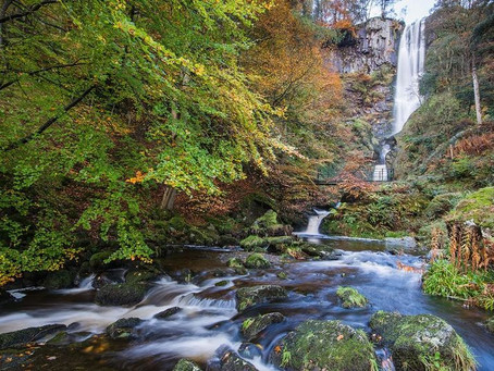 Breathtaking Welsh waterfall named one of seven wonders of the UK!