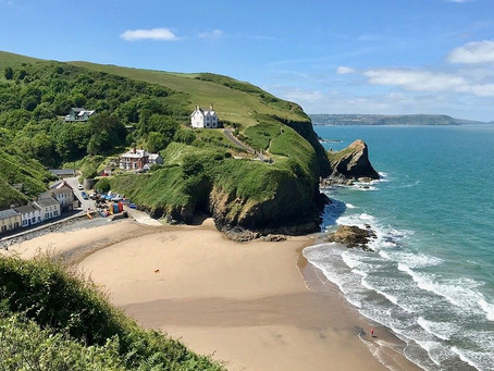 Wales Has 870 Miles of Beaches; Join Us For a Private Guided Tour of Wales to see some of them!