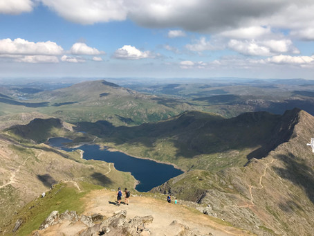 A Close Shave on Snowdon!