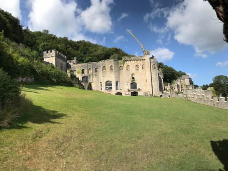 Gwrych Castle Getting Ready For The Next Series!! #Abergele, #North Wales, #ITV, #I'm a Celebrity