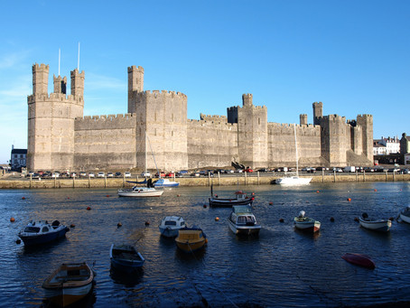 Caernarfon Castle's largest ever archaeological investigation reveals unknown early history!