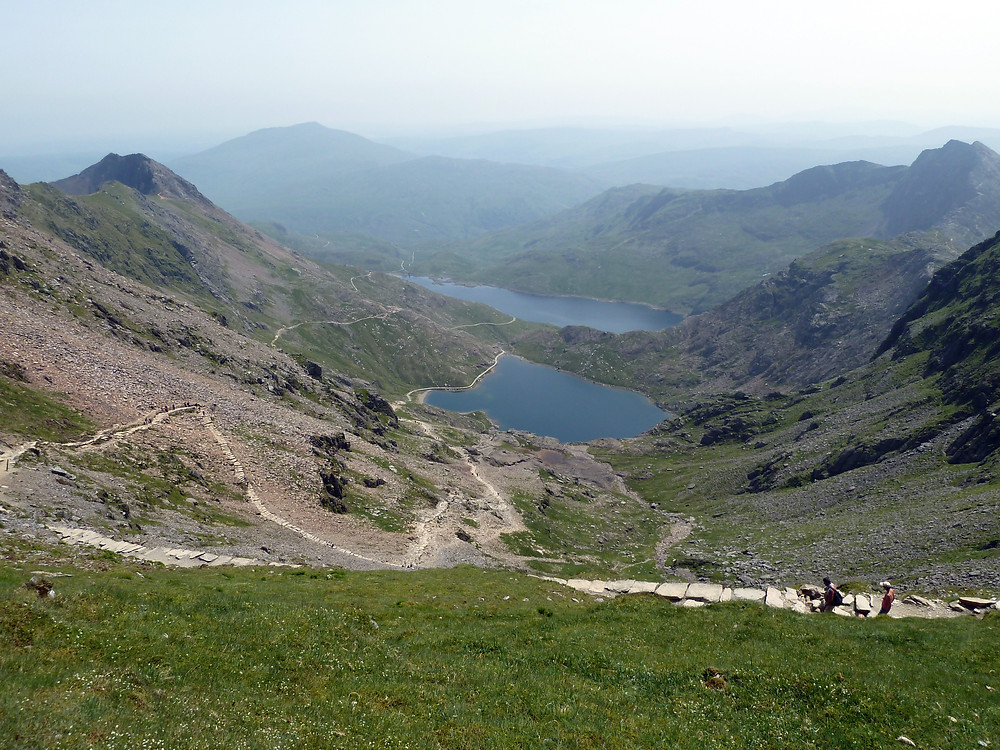 Path leading up to Mount Snowdon