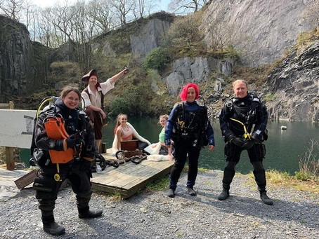 Abandoned Snowdonia slate quarry to be turned into world's first underwater escape room!