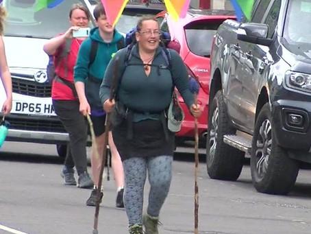 Ursula Martin completes 5,000-mile Ukraine to Wales walk!!