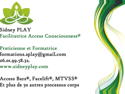 Classes Access Bars®, Facelift®, Processus corps, Access®, Saint Geoirs 38590, Isère, Sidney PLAY