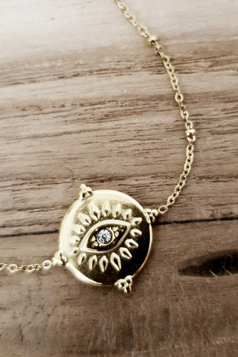 Bracelet Eye Gold