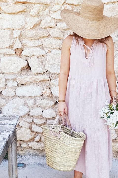Robe Provence Gaze de Coton - Nude