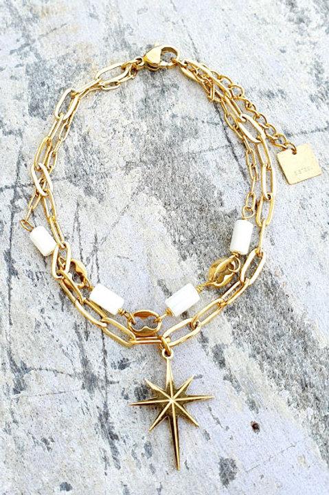 Bracelet - Agathe Blanche - N.3