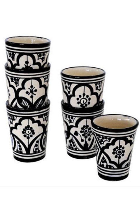 Mug Berbere - Blanc Noir