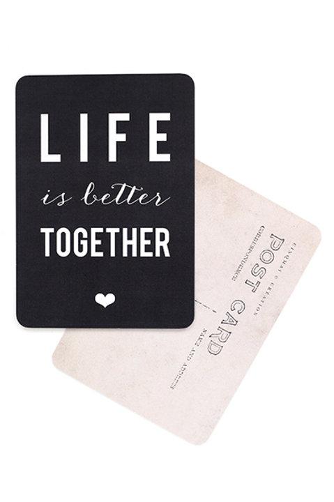 Carte Postale - LIFE