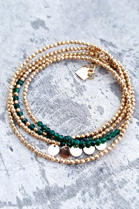 Bracelet Multi Tour - Jaspe - N.4