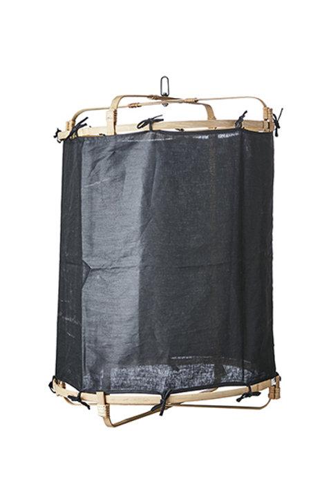 Lanterne Bambou Lin - Black - L