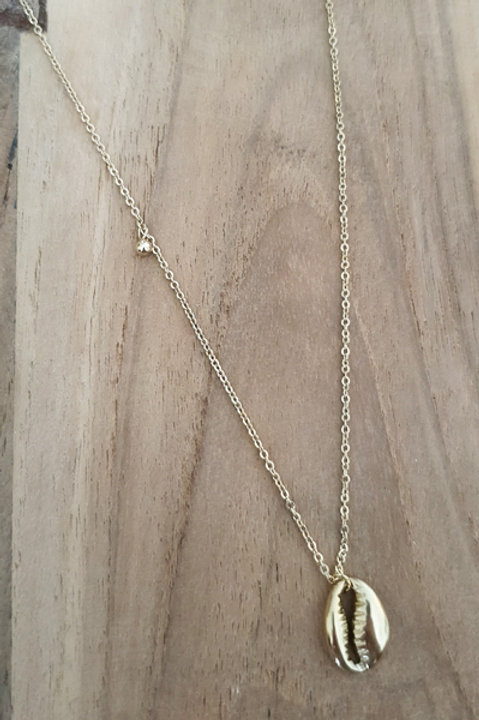 Collier Cauris Gold
