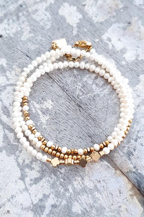 Bracelet Multi Tour - Perles de Culture - N.2