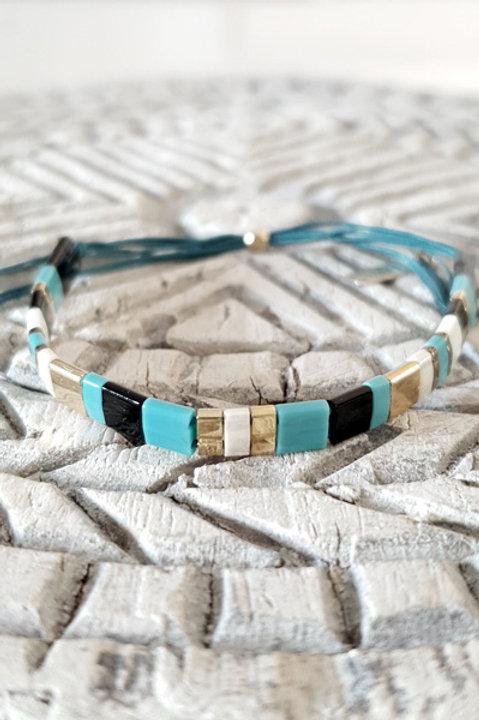 Bracelet Perles de Verre Japonaises - N2