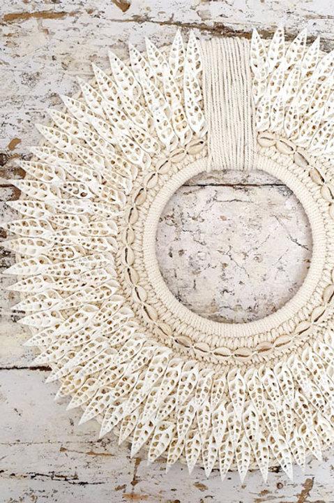 Déco Murale - Collier Papou Coquillage XL