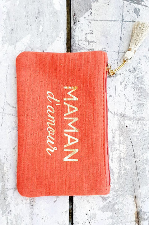 Pochette Maman - Terracota