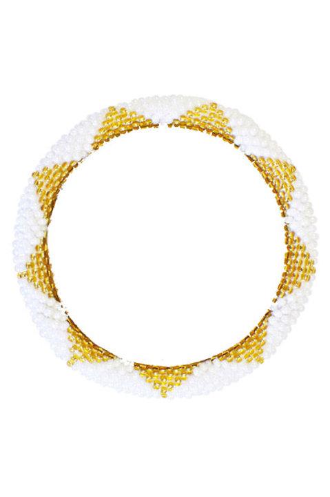 Bracelet Perles de Verre du Nepal - 023