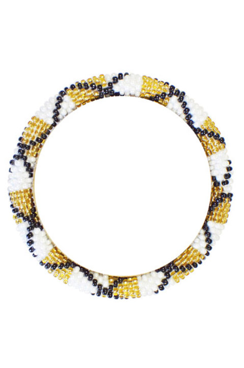 Bracelet Perles de Verre du Nepal - 078