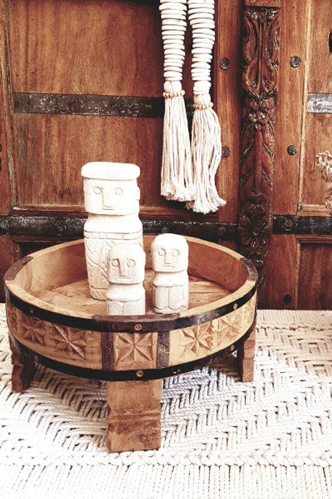 Table Chakki Bois Sculpté - S
