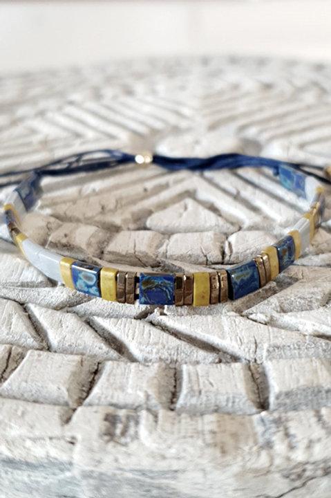 Bracelet Perles de Verre Japonaises - N4
