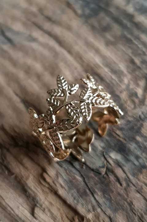 Bague Leaf Gold