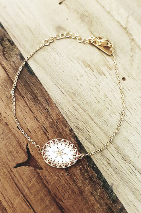 Bracelet Etoile White Gold