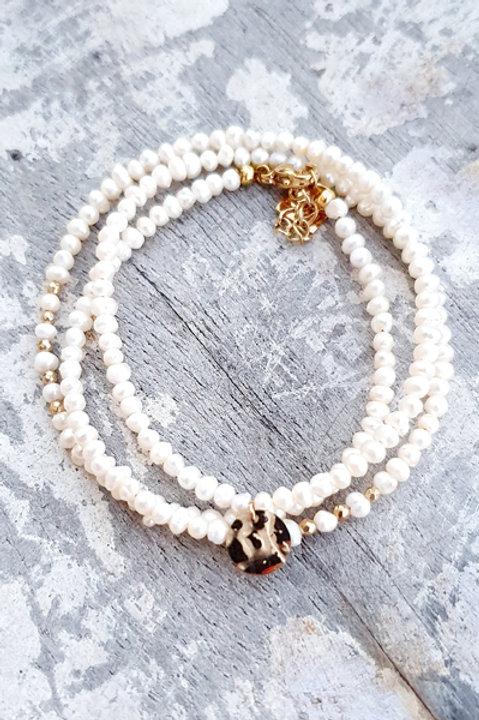 Bracelet Multi Tour - Perles de Culture - N.4