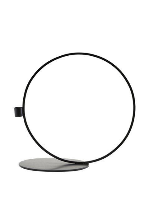 Bougeoir Cercle Métal