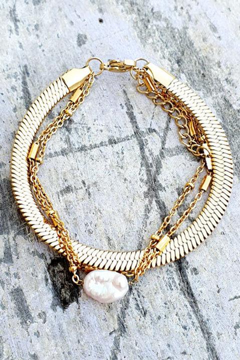 Bracelet Trio - Gold - N.4