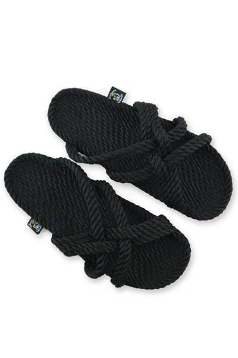 Sandales Slip On Noir