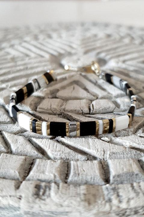 Bracelet Perles de Verre Japonaises - N6